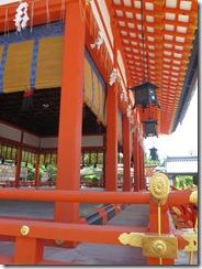 Ceremonial stage at Fushimi Inari